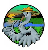 Logo image for Wade, the Timucuan Preserve Junior Ranger mascot