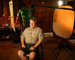 Ranger interview for documentary