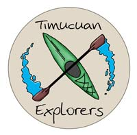 Timucuan Explorers kayaking logo