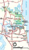 Small image of Timucuan Preserve map.