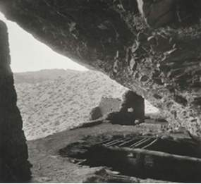 original roof in Lower Cliff Dwelling