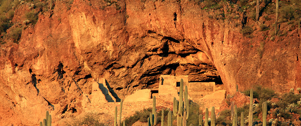 Morning at the Lower Cliff Dwelling