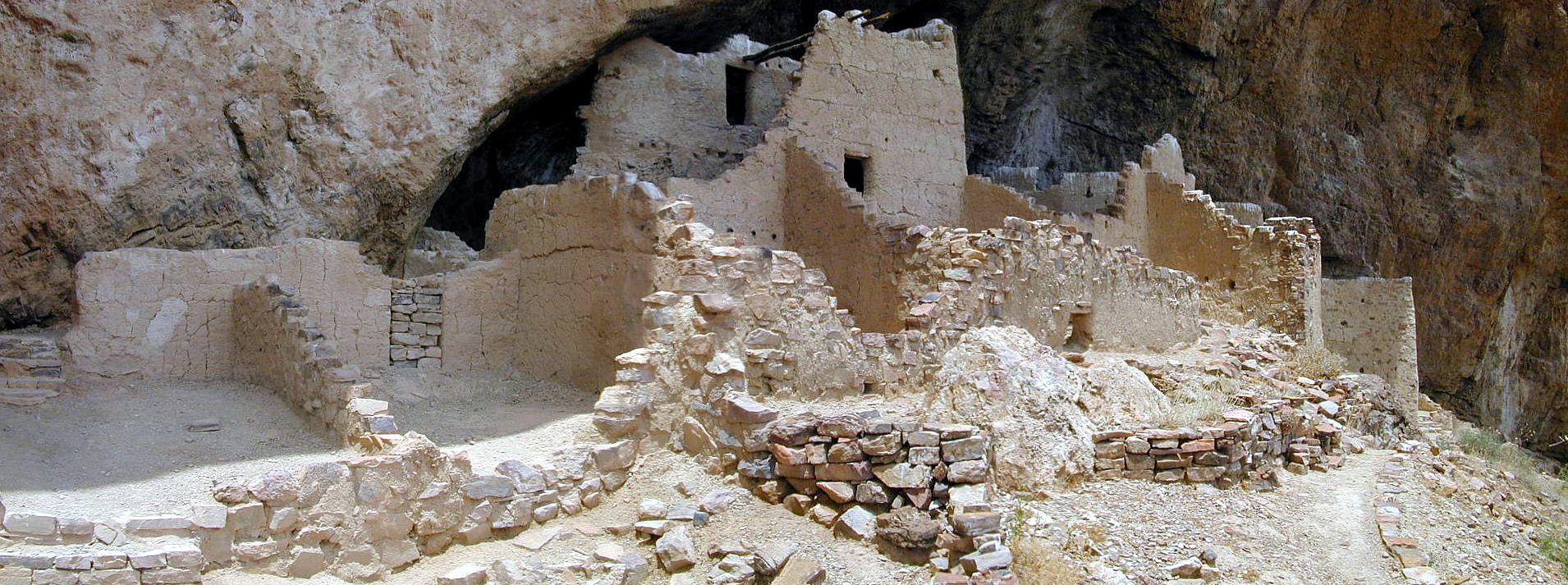 Upper Cliff Dwelling Panoramic