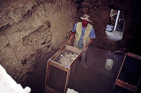 excavation in the Upper Cliff Dwelling