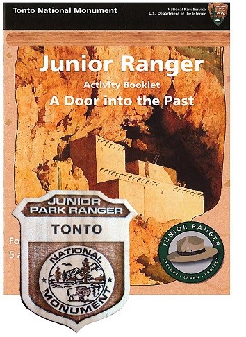 Junior Ranger Booklet and Badge