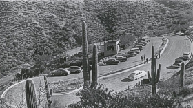 visitor center parking lot - 1952