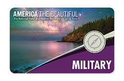 Front of 2019 Military Pass