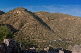 view of Tonto National Monument