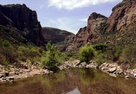 Fish Creek on the Apache Trail