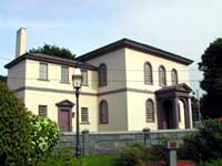 Exterior view of Touro Synagogue