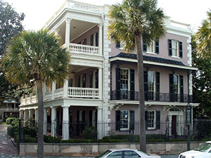 Preservation brief 3 improving energy efficiency in for Charleston style house plans side porch