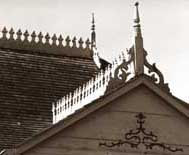 Decorative Cresting And Finials On The Ridge Of A Roof Roofing Feature