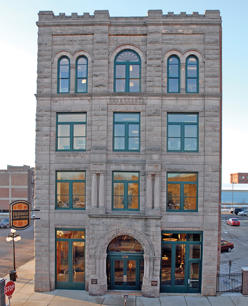 Preservation brief 14 new exterior additions to historic for 3 storey building front elevation