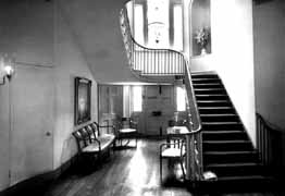 Hall and staircase.