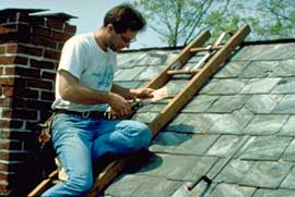 Preservation brief 29 the repair replacement and maintenance of historic slate roofs - A brief guide to a durable roof ...