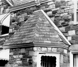 Deterioration Of Slate And Slate Roofs Return To Top △