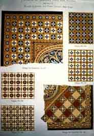 Page From A 19th Century Tile Manufacturer S Catalog