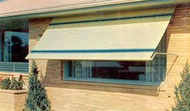 Outside Aluminum Window Awnings Images