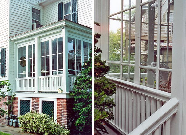Wood Side Porch ~ Preservation brief preserving historic wood porches