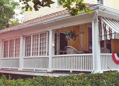 Image Result For Building An Enclosed Porch On Deck