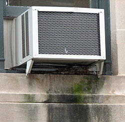 How To Divert Water Dripping Outside From Air Conditioner Window