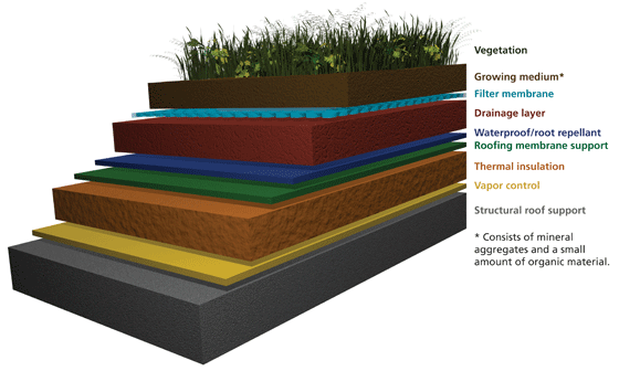 What Is A Green Roof Technical Preservation Services National