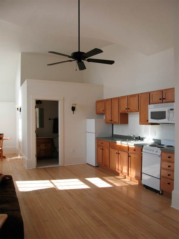 Ceiling Fan In A Kitchen
