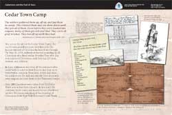 Thumbnail image of the Cedar Town Camp exhibit