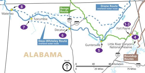 Find Your Park! Itinerary for Alabama - Trail Of Tears National ...