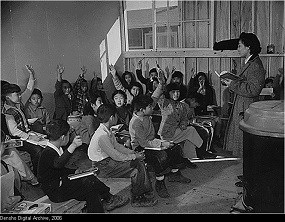 Classroom at Tule Lake Segregation Center