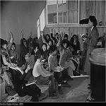 Students at the Tule Lake Segregation Center