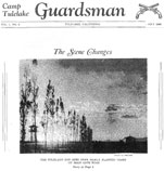 Cover of Camp Tulelake Guardsman, July 1944