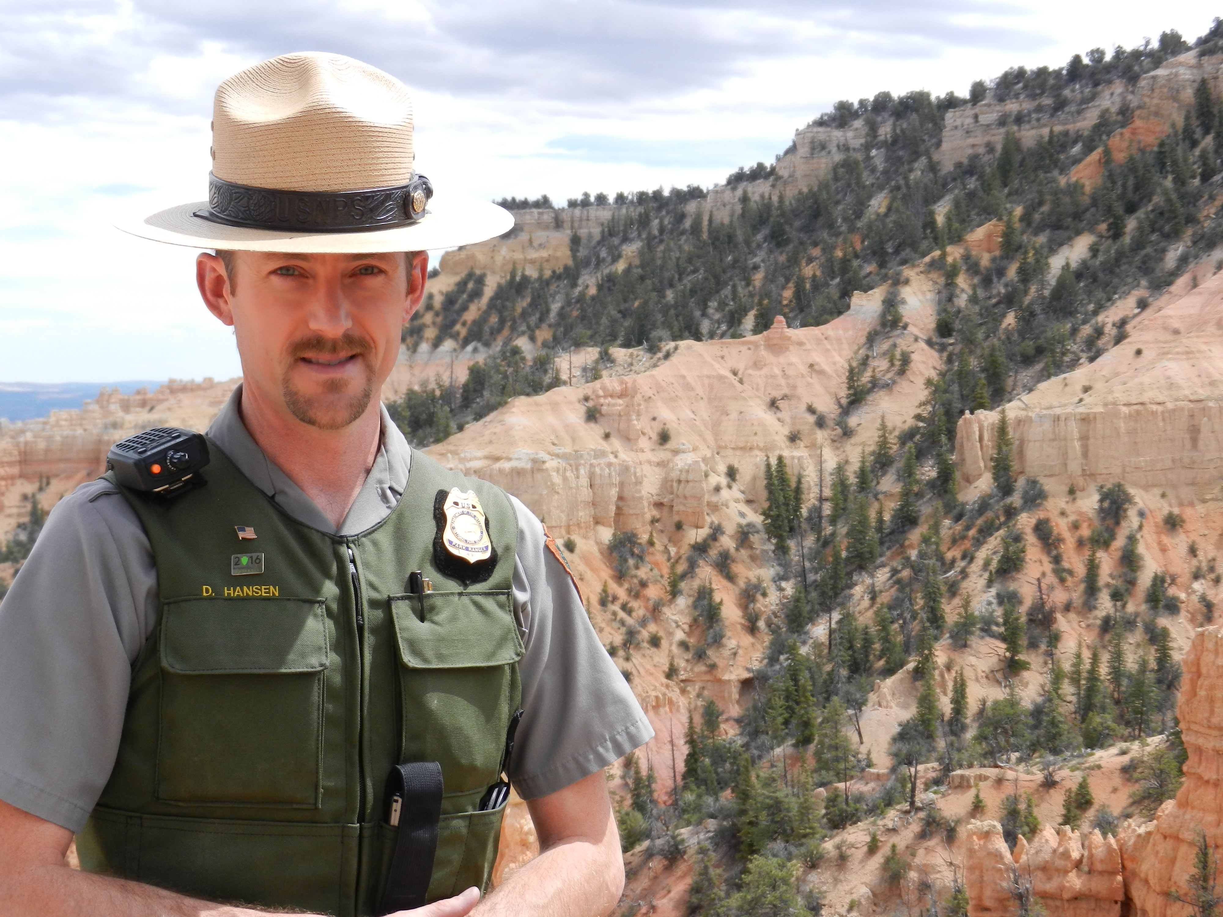 Lava Beds and Tule Lake Unit new Chief Ranger David Hansen