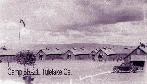 CCC Camp Tulelake in 1936
