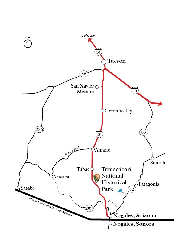 Directions & Transportation - Tumacácori National Historical Park ...