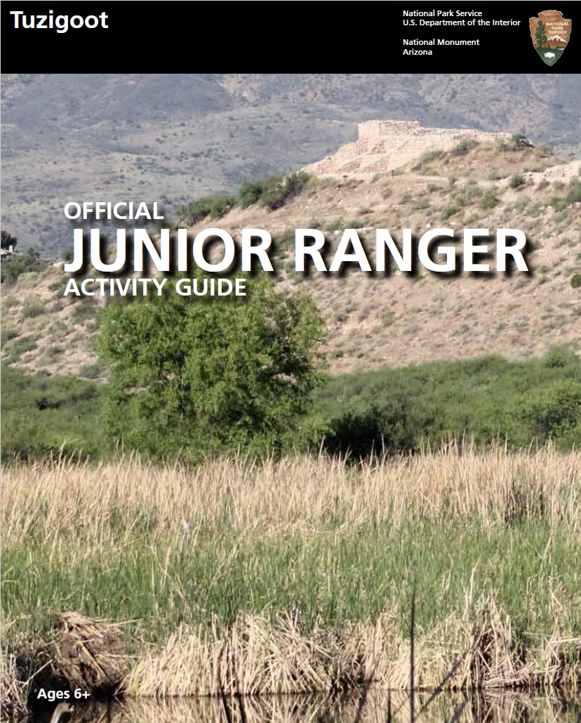 Tuzigoot Junior Ranger Cover