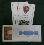 scavenger hunt booklets