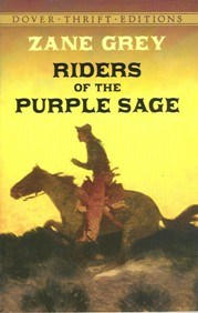 """Riders of the Purple Sage"" is just one of many books written by Zane Grey sold at the Zane Grey Museum."