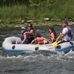 The mild rapids and quiet pools are ideal for families and first time boaters.