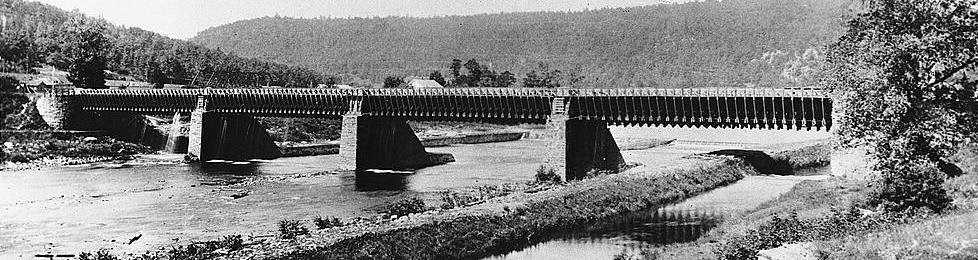 Roebling's Delaware Aqueduct - Upper Delaware Scenic & Recreational River  (U.S. National Park Service)