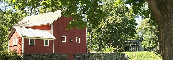 The Corwin Farm sits nestled between the Delaware and Hudson Canal and the Delaware River