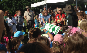 Girl Scouts Celebrate 100 years at National Trails Day