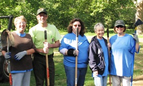 Volunteer Group at the Park