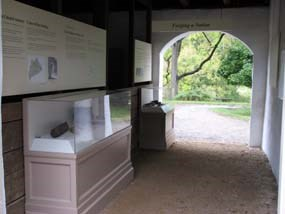 A new exhibit in the stable near Washington's Headquarters highlights the industry of Valley Forge