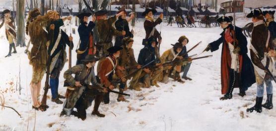 The Camp of the American Army at Valley Forge, February 1778