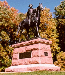 anthony wayne statue on horseback