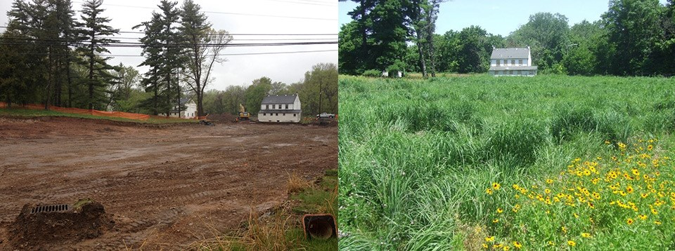 Asbestos Remediation Photo Before and After Comparison