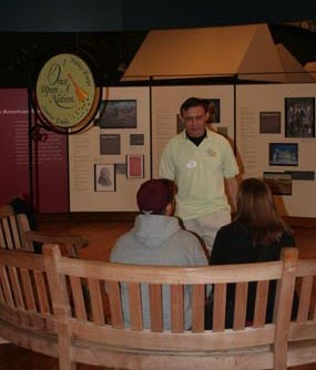Once Upon a Nation Storyteller at Valley Forge Welcome Center