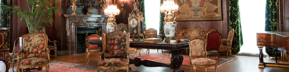 The Living Room in the Vanderbilt Mansion