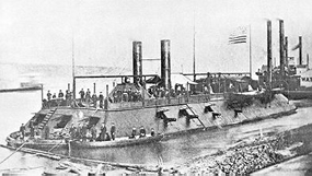 Historic photo of USS Cairo